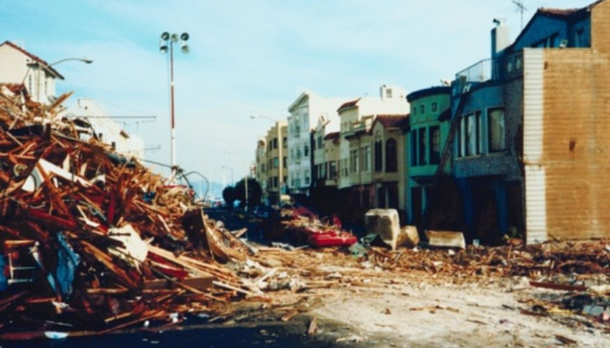 Earthquakes often arrive without warning, so contingency plans are extremely important.