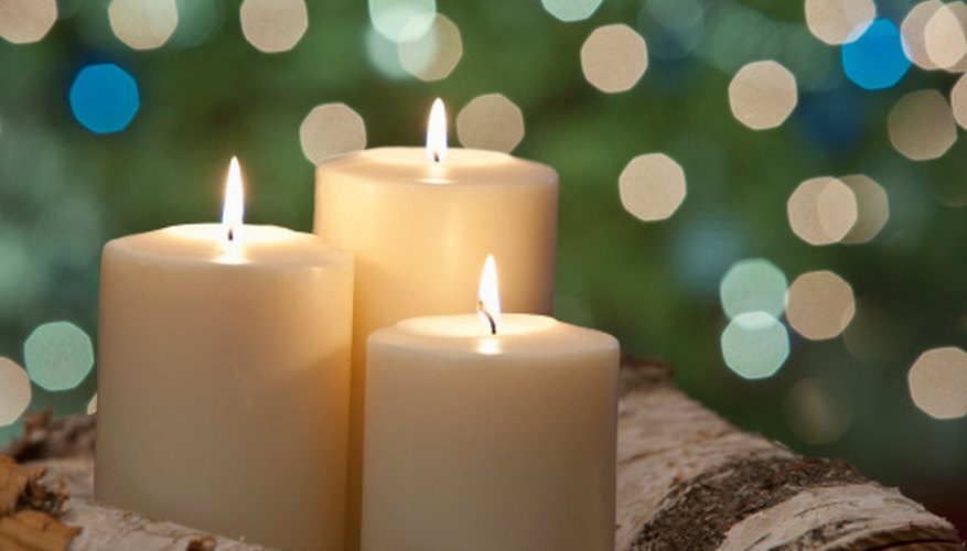Candles can deepen a spritual experience by relaxing the body and mind.