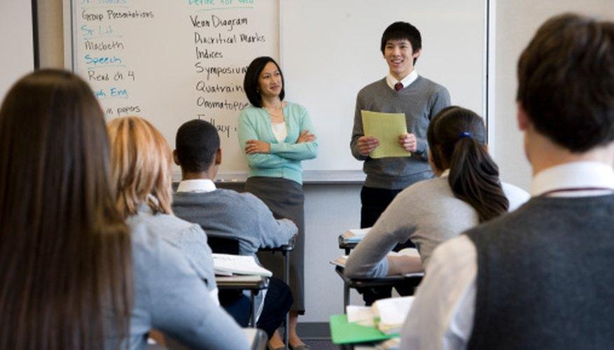 Students teaching their peers creates valuable leadership opportunities