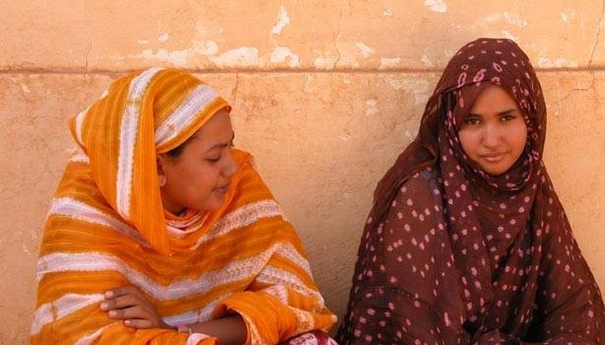 Two Mauritanian women