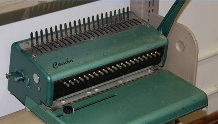 A Binding Machine