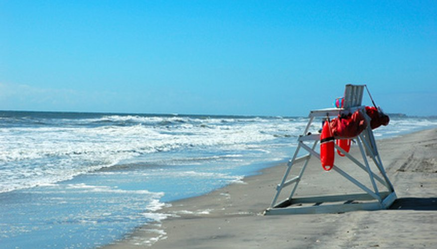 Lifeguards must get specific training.