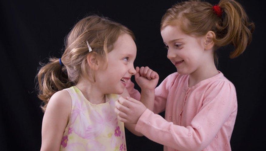 Students often have little social contact until entering preschool or kindergarten.