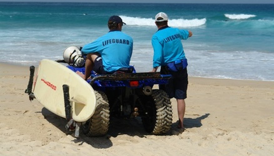 Lifeguards are trained in various forms of emergency response.