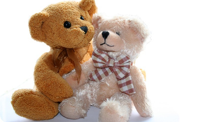 Children can use teddy bears brought from home for a graphing activity.