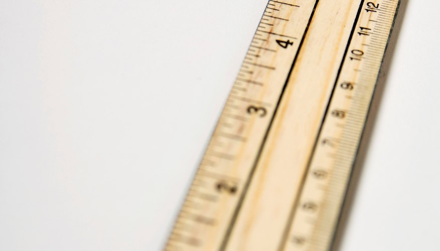 Using and reading a ruler helps to develop a basic understanding of fractions and their values.