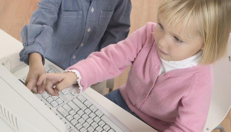 Enseñar preescolar a tus hijos en casa.