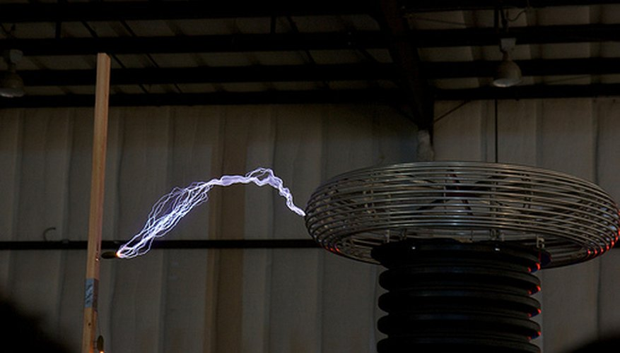 Corriente eléctrica inalámbrica.