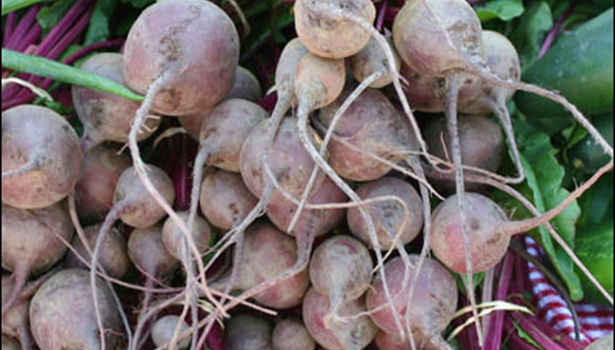 Beets are high in vitamin C.