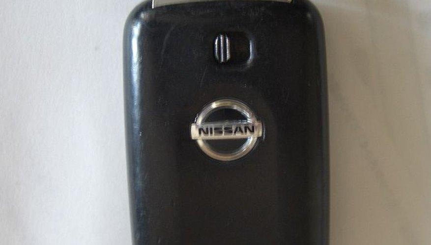 Control Remoto tipo llavero Nissan