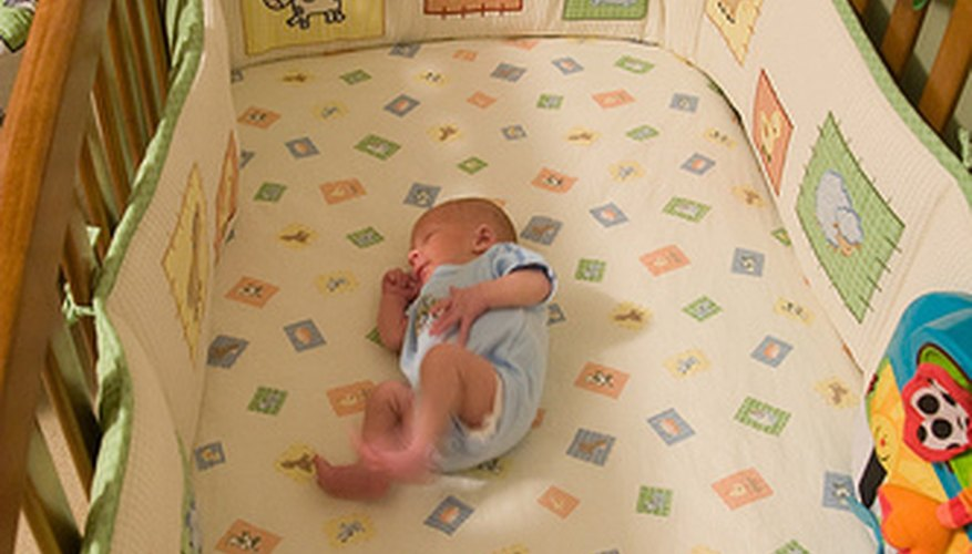 An exceptionally roomy crib will give your baby plenty of growing space.