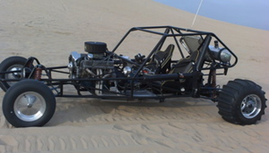 Los buggies de motor con tren delantero vienen en todas las formas y tamaños.