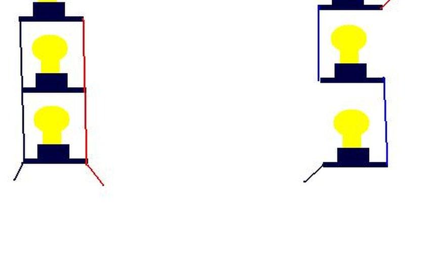 Cómo construir un circuito para bombillas.