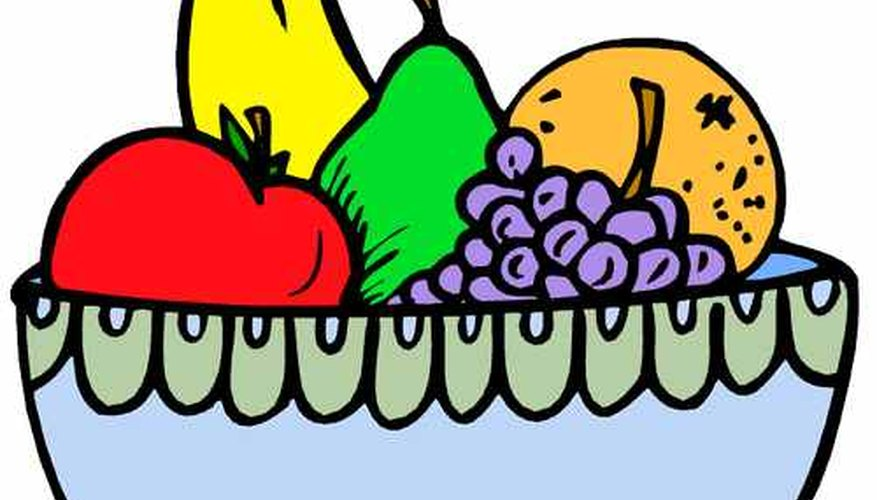 Aprende a dibujar un frutero.