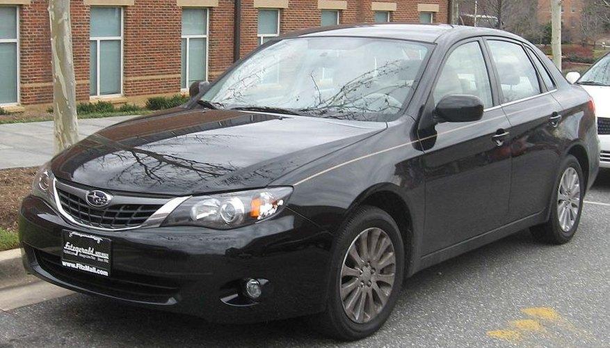 Sedán Subaru Impreza