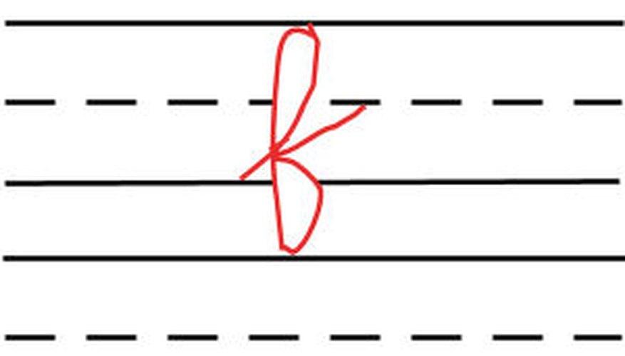 F cursiva.