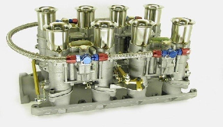Este carburador de alto rendimiento es uno de los muchos modelos que fabrica Weber.
