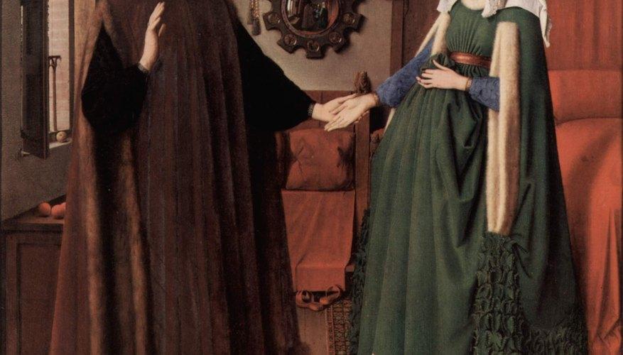 Jan Van Eyck. El retrato de Giovanni Arnolfini y su esposa