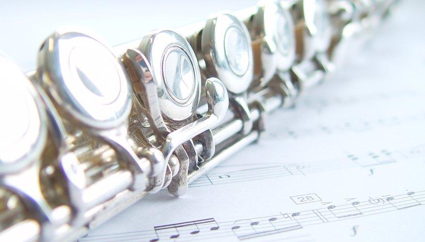 Partituras para flauta.