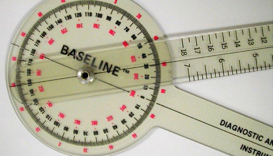 Un goniómetro se usa para medir el rango de la moción.
