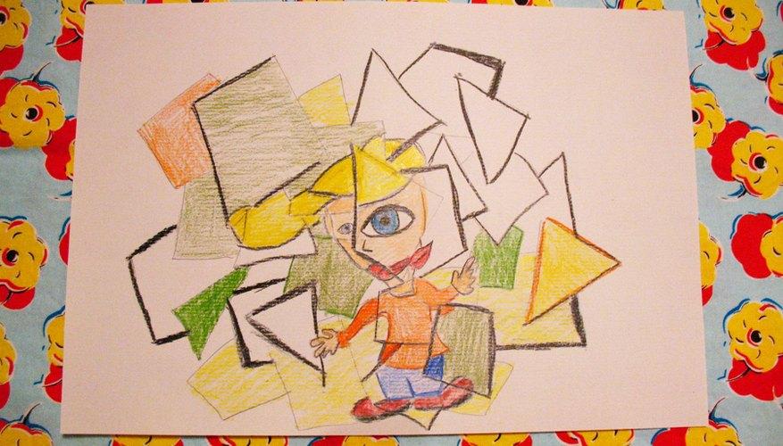 El cubismo se caracteriza por estar lleno de ángulos y formas geométricas, y por el aplanamiento de la propia imagen casi hasta el punto de la bidimensionalidad.