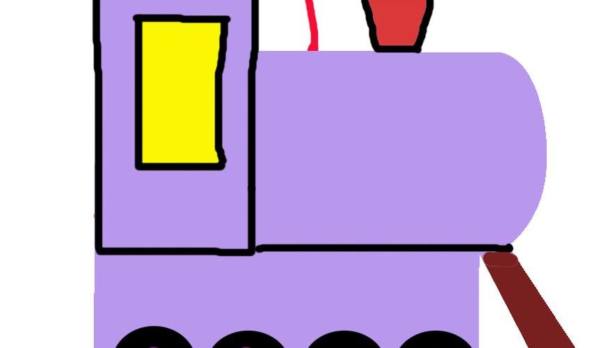 Haz una piñata de tren