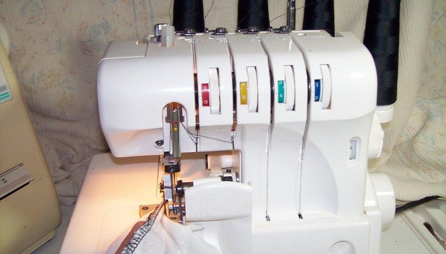 Crea una costura que se vea profesional con una remalladora.