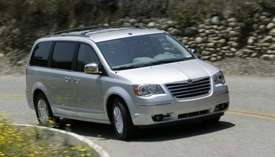 Camioneta Chrysler Town & Country 3.3L.