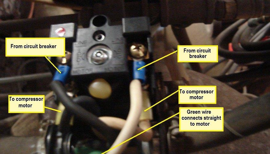 Cómo conectar un compresor de aire 220.