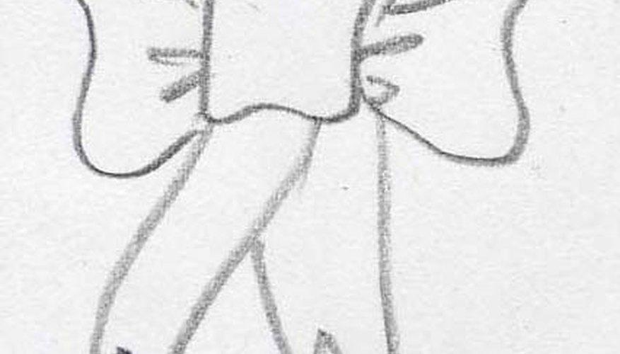 Los moños se han dibujado por años.