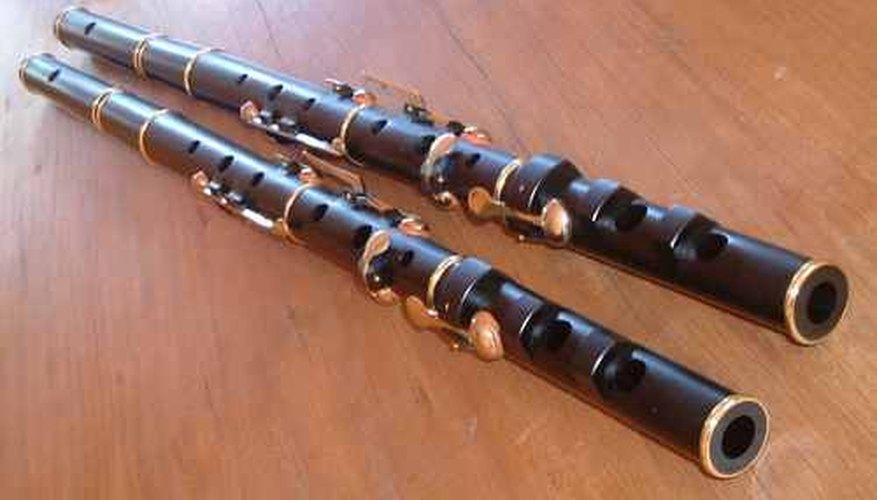 Flautas.