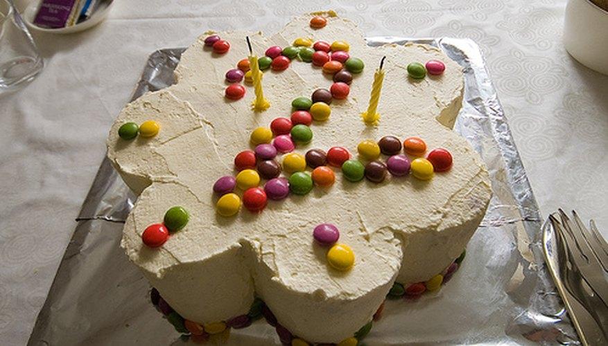 Alimentos para las fiestas de cumpleaños para niños de 2 años.