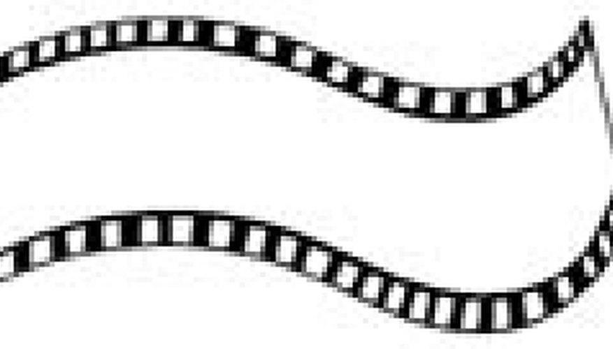 La película de 8mm fue muy popular para películas caseras a mediados del siglo 20.