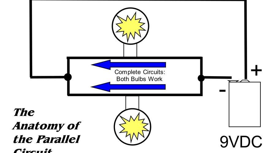 Un circuito paralelo tiene una función: mantener el flujo de electricidad cuando una vía está interrumpida.