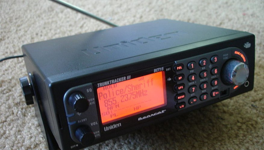 Uniden BCT-15 Trunktracking Scanner