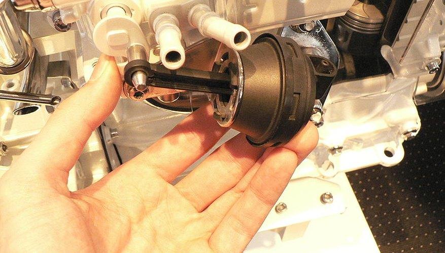 La mayoría de las válvulas de recirculación de gas de escape tienen diseños similares.