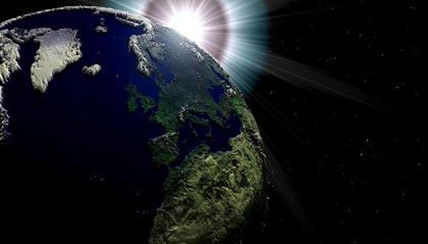 Una llamarada solar es uno de los muchos fenómenos astronómicos.