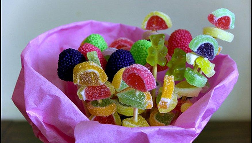 Las posibilidades son ilimitadas para los arreglos de dulces y galletas.