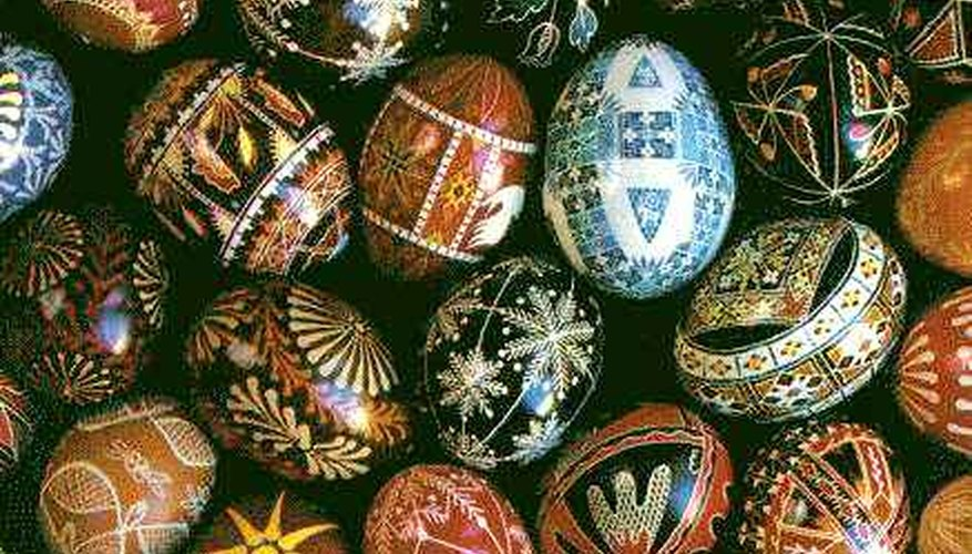 Ukranian painted eggs