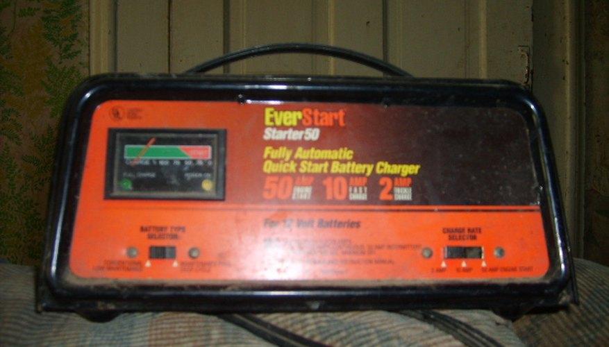Siempre lleva cables para alimentar la batería.