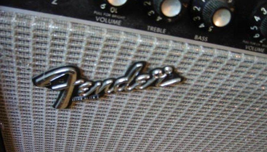 Un amplificador Fender.