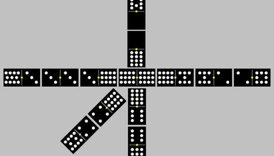 El Tren mexicano es una variante popular de dominó que no requiere un montón de vueltas y revueltas complicadas.