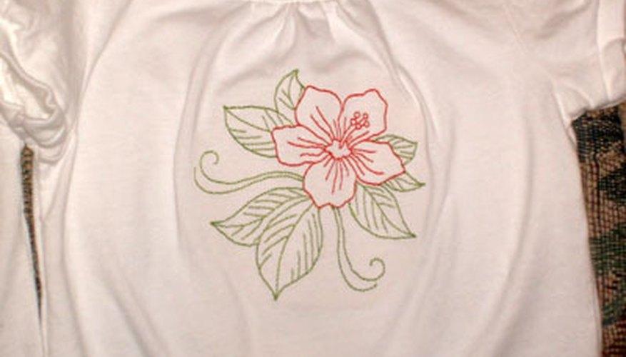 Aprende a bordar camisetas.