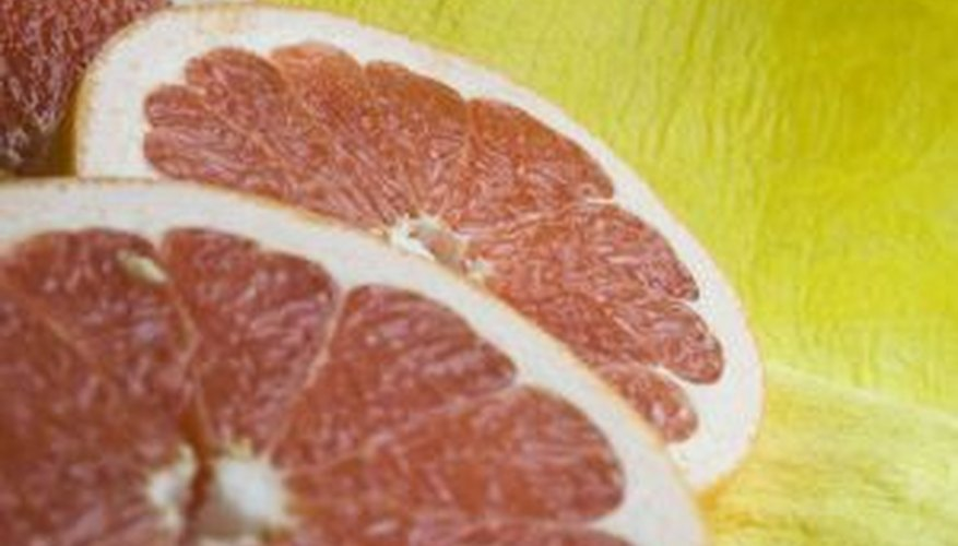 Grapefruits are harvested for several months.