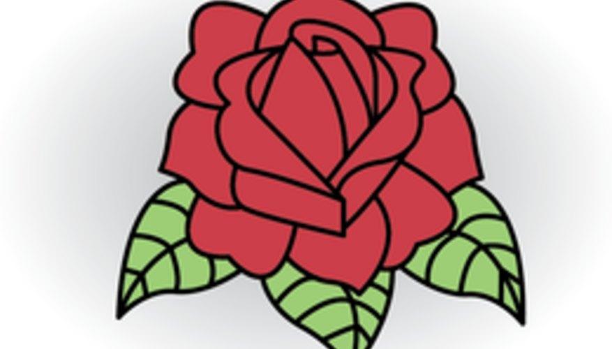 Cómo Dibujar Una Rosa Con El Clásico Estilo Del Tatuaje Geniolandia