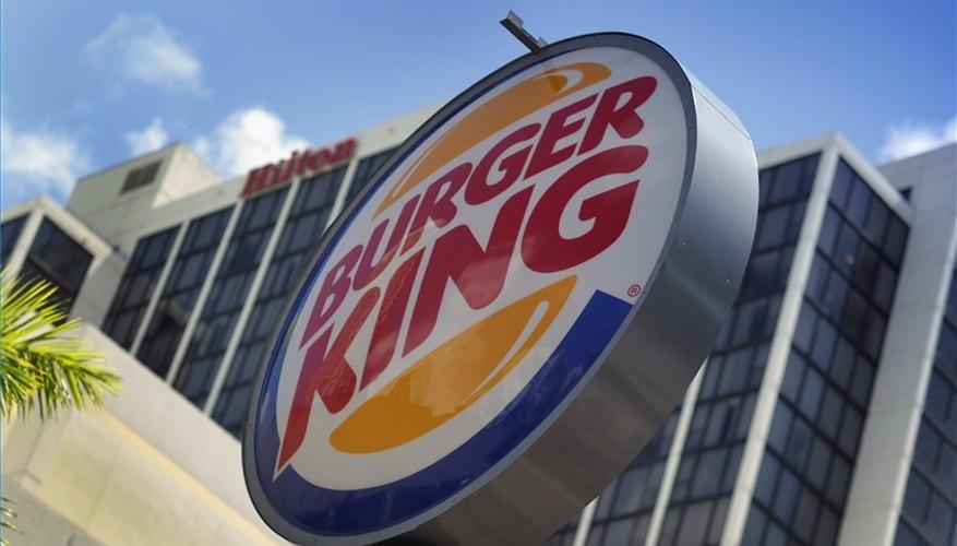 Compra una franquicia de Burger King.