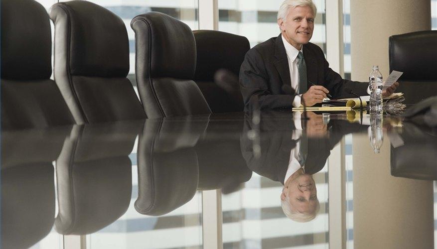 Lleva a cabo una reunión de directorio