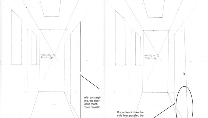 How To Draw A Hallway Our Pastimes