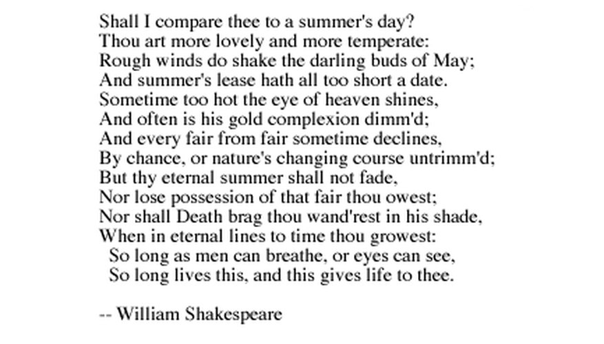 Shakespeare said it best, but you can quote it.