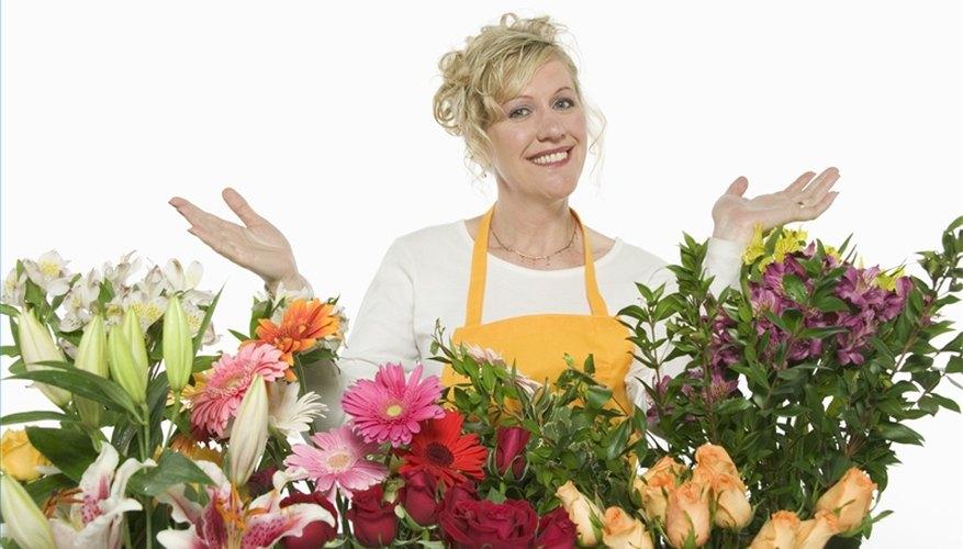 Crea exhibiciones para las florerías.